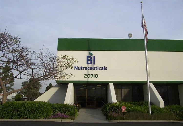 BI Nutraceuticals Building